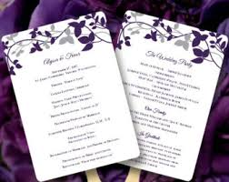 how to make wedding program fans fan wedding programs starfish jade