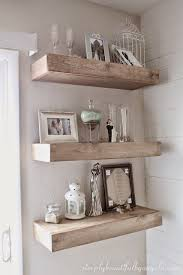 Floating Shelves For Bathroom by Best 10 Shabby Chic Shelves Ideas On Pinterest Rustic Shabby