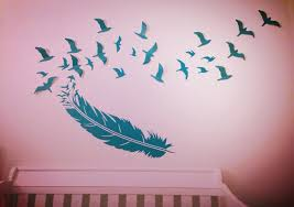 Nursery Wall Decals Canada Bird Wall Decals Canada Design Idea And Decorations Bird Wall