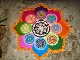 Pictures Of Designs by 56 Attractive Indian Rangoli Designs For Diwali Festival