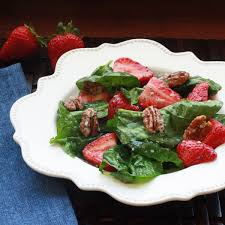 strawberry spinach salad with poppy seed dressing winner dinners