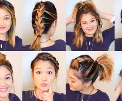 heatless hair styles 10 diy heatless hairstyles under 5 minutes