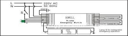 emergency ballast wiring diagram u0026 ballast running 4