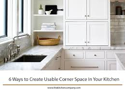 blind corner kitchen cabinet ideas 6 ways to create usable corner space in your kitchen the