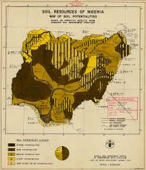 Map Of Nigeria Africa by The Soil Maps Of Africa Display Maps