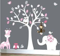 Tree Wall Decal For Nursery Baby Tree Wall Decals White Tree Wall Decal Nursery Tree