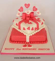 77 best cakes 21st birthday images on pinterest 21st cake