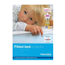 Bed Protector Hippychick Fitted Cotton Mattress Protectors