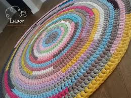 Crochet Doormat T Shirt Crochet Rug Rugs Ideas