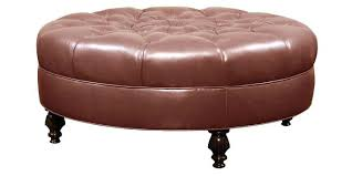 round tufted coffee table awesome tufted ottoman coffee table fabric or leather large round