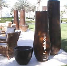 Wood Vases Wholesale Palm Pots Factory Direct Best Price Guarantee Coconut Palm