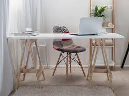 Trestle Computer Desk Mocka Trestle Desk Home Office Furniture