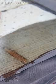 How To Color Wash Wood - keeping it cozy weathering wood with steel wool u0026 vinegar