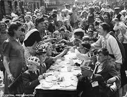 Celebration In Uk Ve Day Britain To Celebrate Victory The 70
