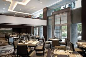 interior modern restaurant interior design with modern vintage