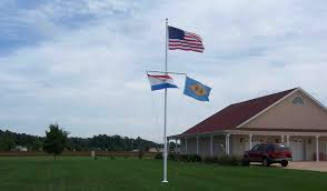 Wall Mounted Flag Pole Delaware Residential Flagpoles Commercial Flagpoles First State