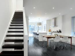 modern stairs open plan bews2017