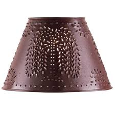 willow tree home decor check out the deal on red willow tree punched tin 12 inch lamp