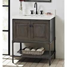 Ferguson Vanities F140130 Toledo Vanity Base Bathroom Vanity Driftwood Gray At