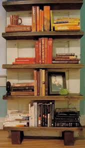 Weathered Bookcase 10 Repurposed Door Bookcases Real Country Ladies