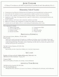 Teacher Resume Experience Examples by Yoga Teacher Resume Skills Trainer Resume Summary Examples