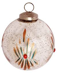 glass bauble hanging in silver golden u0026 more colors u2013 5 u201d tree