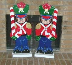 Nutcracker Christmas Yard Decorations by Toy Soldiers Yard Art Decorations Holiday Yard Art Made By Art