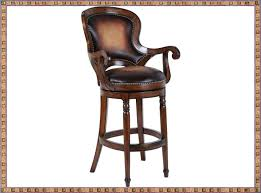 Wooden Swivel Bar Stool Wooden Swivel Bar Stools With Back And Arms Swivel Bar Stools
