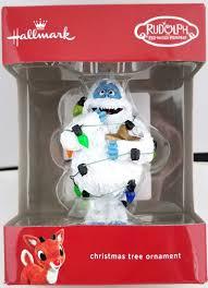 hallmark rudolph abominable snowman ornament 2017 ebay