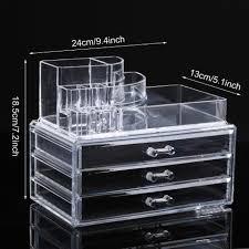 acrylique maquillage organisateur présentoir cosmétique acrylique