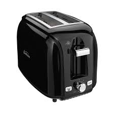 Waring Toasters Sunbeam 2 Slice Extra Wide Slot Black Toaster
