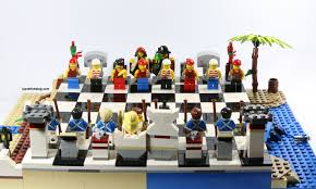 review lego 40158 pirates chess set