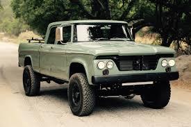 dodge truck power wagon dodge power wagon hemi restomod by icon is a cool truck