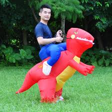 jyzcos inflatable dinosaur costumes for adults kids t rex dinosaur