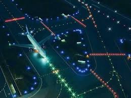 model airport runway lights airport lighting market by airport type commercial and military