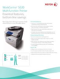 download free pdf for xerox workcentre 5020 multifunction printer