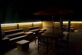 exterior deck lighting exterior lowvoltage black outdoor