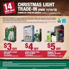 home depot ge christmas lights home depot christmas light trade in november 1 14 al com