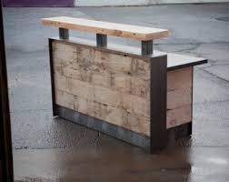 Wood Reception Desk Reception Desk Etsy
