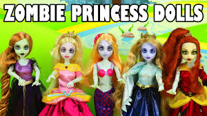 once upon a child halloween costumes zombie princess doll set from once upon a zombie toy review