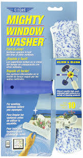 The Best Window Cleaner Amazon Com Ettore 50010 Mighty Window Washer 10 Inch Home U0026 Kitchen