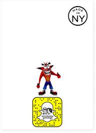Crash Bandicoot Meme - crash bandicoot woah happy birthday card plays meme sound