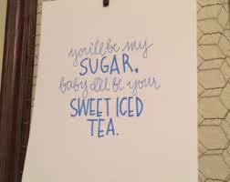 printable lyrics honey bee blake shelton sugar honey iced tea etsy