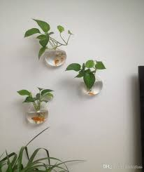 Wall Planters Indoor by Opening Glass Wall Terrariums Hanging Wall Planters For Home