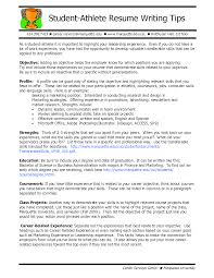 objective on resume for college student resume examples for student athletes frizzigame resume college student athlete frizzigame