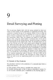 detail surveying and plotting springer