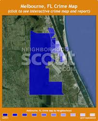 melbourne fl map melbourne fl crime rates and statistics neighborhoodscout