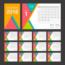 Desk Calendar Design Ideas 2018 Calendar Vectors Photos And Psd Files Free Download
