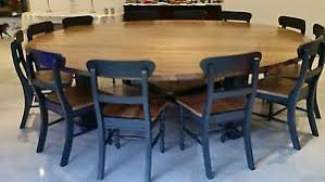 large round dining table for 12 12 14 16 seater very large round dining table chunky blackened oak