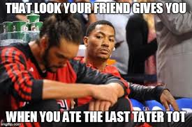 Chicago Bulls Memes - derrick rose stink eye imgflip